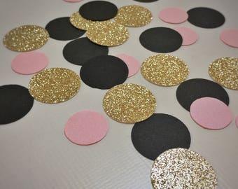 A Dusting of Pink & Gold | Confetti | Weddings |  Bridal Shower | Birthday