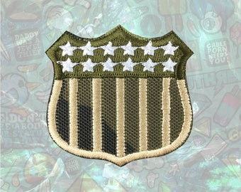 US Military Patch Iron on Patch Sew On Patches back patch