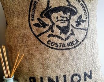 Coffee Sack Cushion