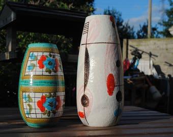 Vintage Fratelli Fanciullacci vases - Italian Pottery 1950s/60s.