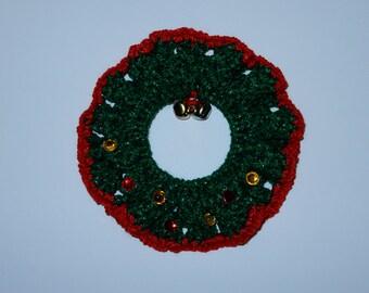 Christmas Wreath - Crochet