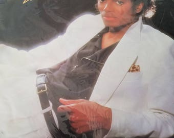1982 michael Jackson thriller lp