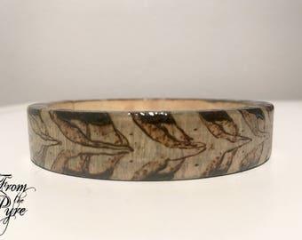 The Vertebrae Bracelet – wood bangle