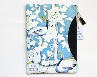 Chinoiserie iPad 9.7 sleeve, custom tablet cover, Samsung Galaxy note 10.1, ipad mini 4/3/2