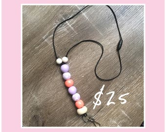Beaded Lanyard - Handmade