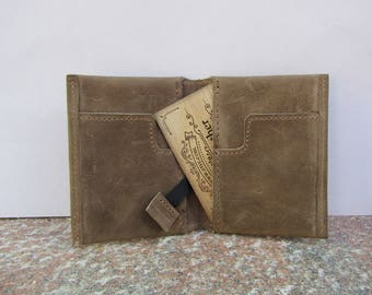 Genuine Leather CardFlip Men's Wallet by Tenaz