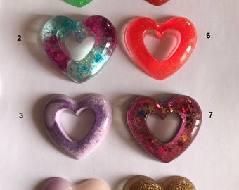 Resin Heart creation