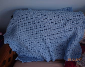 Blue Toddler Blanket