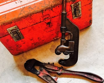 Vintage Tools Pipe and Bolt Cutters