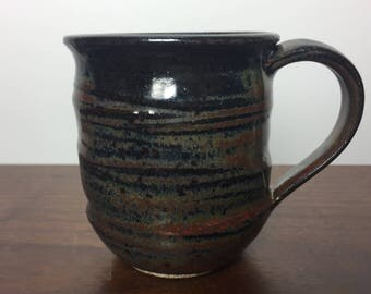 Smokey Red Stoneware Mug