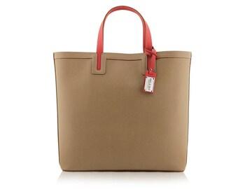 Taupe Shopper Bag