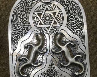 Old Berber khamissa or khamssa or Fatima's hand