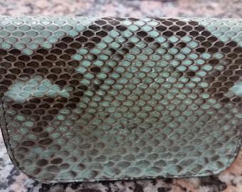 Snake Skin Card Holder