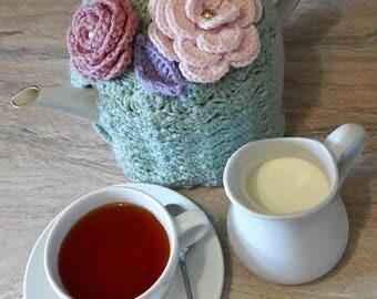 Blue Moon Crochet Tea Cozy