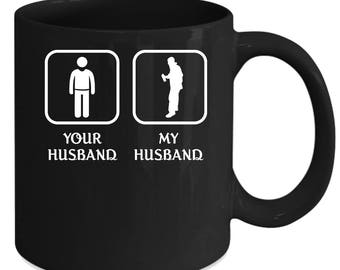 Graffiting Your husband My husband Gift, Christmas, Birthday Present for the best Husband Black Mug