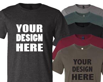 Custom Customizable T Shirt Tee Family Business Event Wholesale Bulk Personalized Personalised Premium Quality