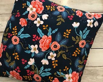Rifle paper co envelope pillow cover-- choose your fabric