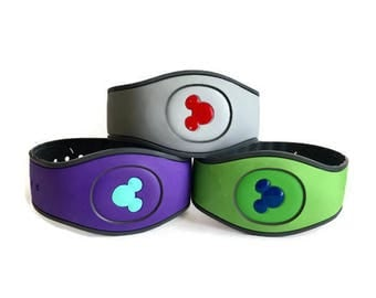 Magic Band 2.0 and 1.0 Mickey Head-Inspired Decal