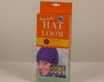 """Knitting """"Loom Adjustable Hat"""""""