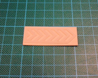Stamp chevron tc038 with frame color choice
