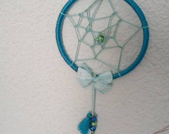 Blue dream catcher handmade