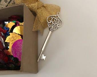 Box of magic; santa key; naughty santa; lost santa key; Christmas magic; silly santa; Father Christmas key; magic santa key;