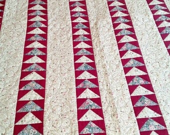 Handmade Quilt - Flying Geese