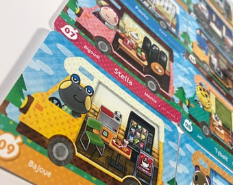 Animal Crossing New Leaf Welcome Amiibo RV #1-50 US Version Fanmade Sanrio