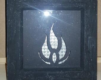 Blake symbol from R.W.B.Y frame