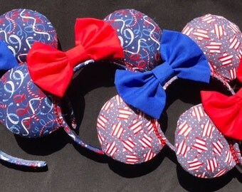4th of July Mouse Ears