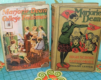 MARJORIE DEAN BOOKS -Set of Two.
