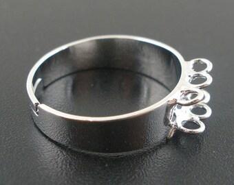 BA2 - Set of 2 adjustable rings 9 rings 18.5 mm (adjustable)