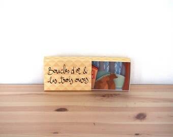 """Diorama Conte """"Boucles d'or et les trois ours - 6. L'au revoir"""""""