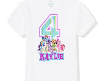 My Little Pony Birthday Shirt