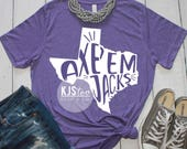 Stephen F Austin Tee - Purple SFA Tee - SFA Lumberjacks Shirt - College Football Tee - SFA Football Tee - College Spirit Tee - Axe Em Jacks