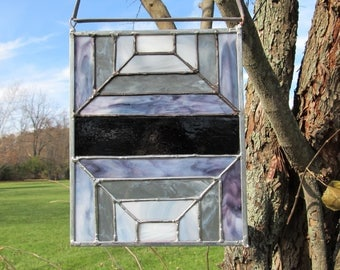 Stained Glass Panel.  Stained Glass Art