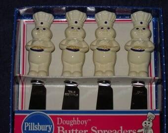 Pillsbury Doughboy Butter Spreaders