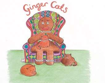 Ginger Bread Cats