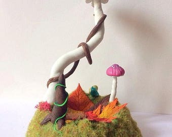 Wearing jewelry or other magical mushroom Fimo