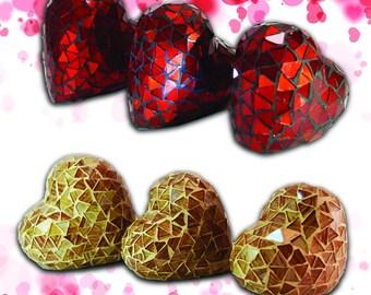Decorative Hearts Set