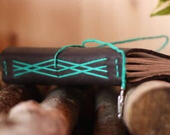 Hand-bound Genuine leather Notebook
