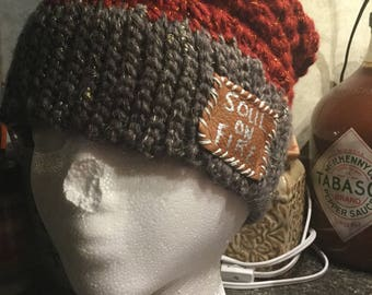 Stitches With Wishes Soul On Fire Handmade Crochet Beanie