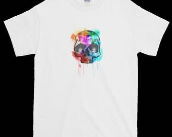 "T Shirt   """"COLOURFUL Scull T shirt"""""