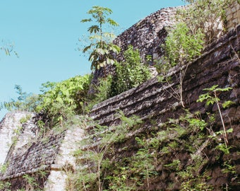 Travel Photography, Digital Wall Art, Ek' Balam, Mexico, Mayan Ruins Photo, Digital Download, Printable Wall Art, Home Decor, Wall Decor,art