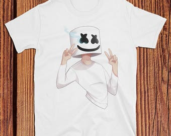 Marshmello Peace Sign T-shirt