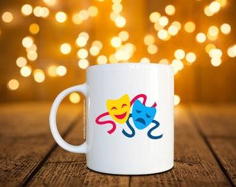 Happy and Sad Face Coffee Mug / Cup