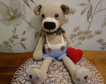 Teddy-bear Theodor. Free shipping!