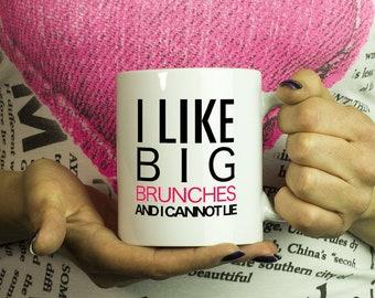 Brunch Time Gift I love Brunch Brunch So Hard Brunch Party Favor Brunch Lover Sunday Brunch Coffee Mug For The Brunch Squad and Brunch Club