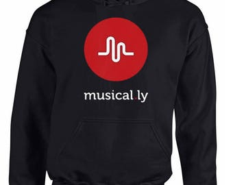 Musical.Ly Hoodie Perfect Gift. Very comfortable.