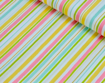 Candy Stripe Fabric, Striped Fabric by the Yard, Cotton Fabric, Striped Quilting Fabric, Striped Fabric, Striped Material, Apparel Fabric